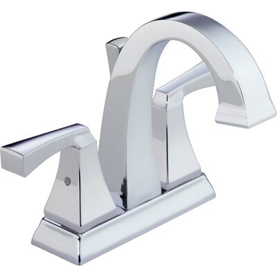 Dryden Double Handle Centerset Bathroom Faucet with Sink Faucet (Drain Included) Product Photo