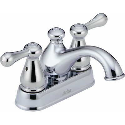 Leland Centerset Bathroom Faucet with Double Lever Handles Product Photo