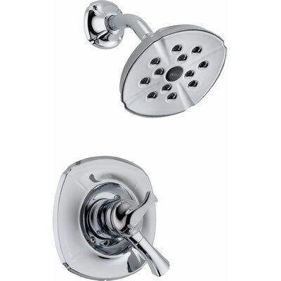 Addison Pressure Balance Diverter Shower Faucet Trim with Lever Handles Product Photo