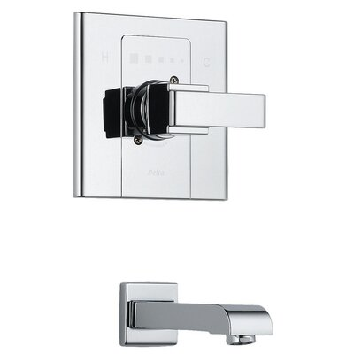 Arzo Single Handle Wall Mount Tub Only Fauce Trim Product Photo