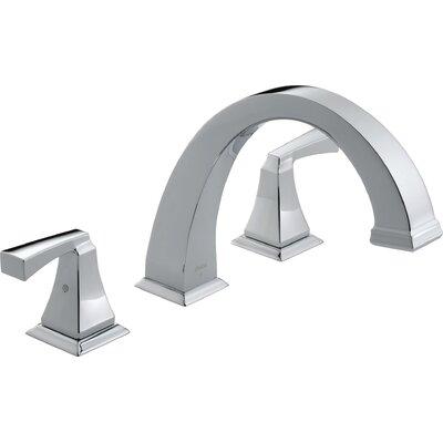 Dryden Double Handle Deck Mount Roman Tub Faucet Trim Product Photo