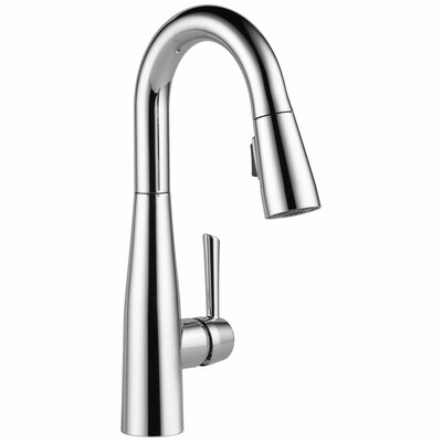 Essa Single Handle Pull Down Bar and Prep Kitchen Faucet Product Photo