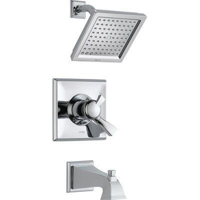 Dryden Pressure Balance Diverter Tub and Shower Faucet with Lever Handles Product Photo