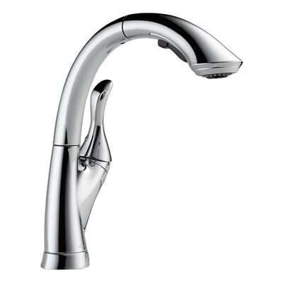 Linden Single Handle Deck Mounted Kitchen Faucet Product Photo