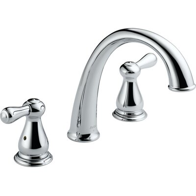 Leland Double Handle Deck Mount Roman Tub Faucet Trim Product Photo