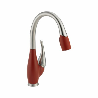 Fuse Single Handle Deck Mounted Kitchen Faucet Product Photo