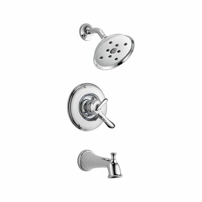 Linden Tub and Shower Faucet Trim with Lever Handles Product Photo