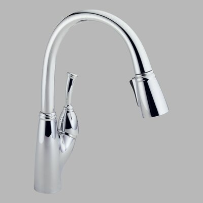 Delta Allora Single Handle Deck Mounted Kitchen Faucet with Pull-Out Spray