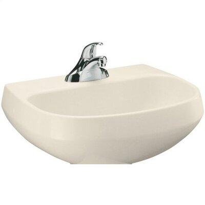 Wellworth Bathroom Sink Basin with Single Faucet Hole by Kohler