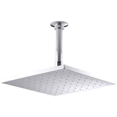 "Contemporary Square 10"" Rainhead with Katalyst Air-Induction Spray, 2.5 Gpm Product Photo"