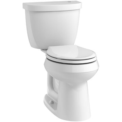 Kohler Cimarron 2 Piece Touchless Toilet With Aquapiston