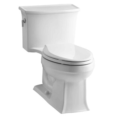 Archer One-Piece Elongated 1.28 GPF Toilet with Aquapiston Flush Technology and Left-Hand Trip Lever Product Photo
