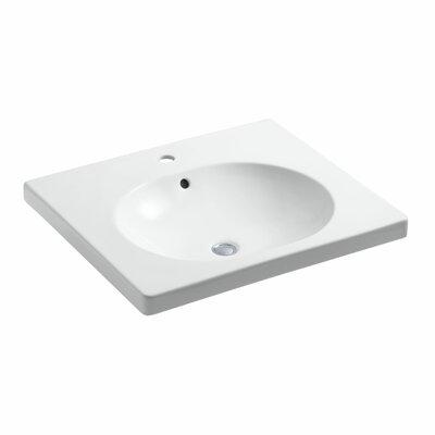 Persuade Circ Vanity-Top Bathroom Sink with Single Faucet Hole by Kohler