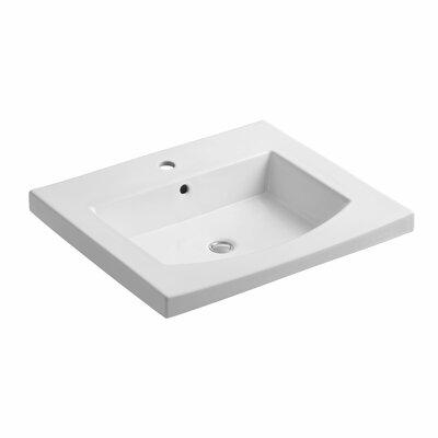 Persuade Vanity-Top Bathroom Sink with Single Faucet Hole by Kohler
