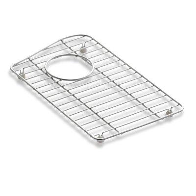 "Kohler Lawnfield Stainless Steel Sink Rack, 15-13/32"" x 16-1/2"", for Right-Hand Bowl"