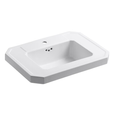 Kathryn Bathroom Sink Basin with Single Faucet Hole by Kohler