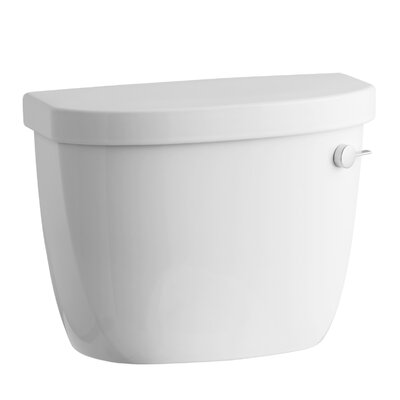 Kohler Cimarron 1.28 GPF High Efficiency Toilet Tank with Aquapiston Flush Technology and Right-Hand Trip Lever