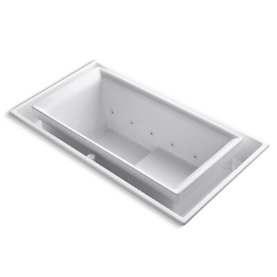 "Kohler Sok 75"" x 41"" Air / Whirlpool Bathtub"