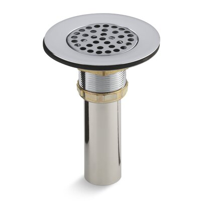 Brass Sink Strainer with Tailpiece for 3-1/2