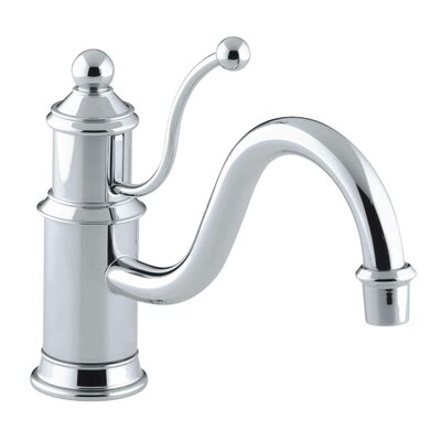 Antique Single-Hole Kitchen Sink Faucet with 8-7/8