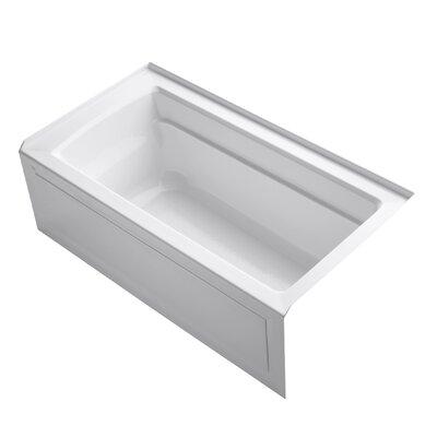 "Archer Integral Apron 60"" x 32"" Soaking Bathtub Product Photo"