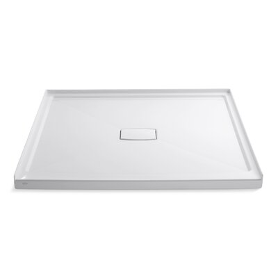 """Archer 60"""" x 60"""" Single Threshold Center Drain Shower Base with Removable Cover Product Photo"""