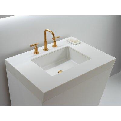 Kohler Rectangular Bathroom Sinks : Kohler Verticyl Rectangular Undermount Bathroom Sink
