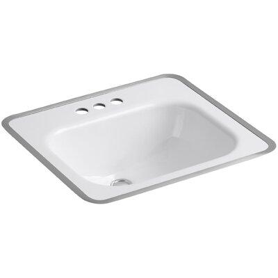 Kohler Tahoe Drop-In Bathroom Sink for Use with Metal Frame
