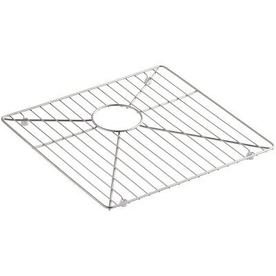 """Kohler Vault /Strive Stainless Steel Sink Rack for Left Basin, 16-15/16"""" x 15-15/16"""""""