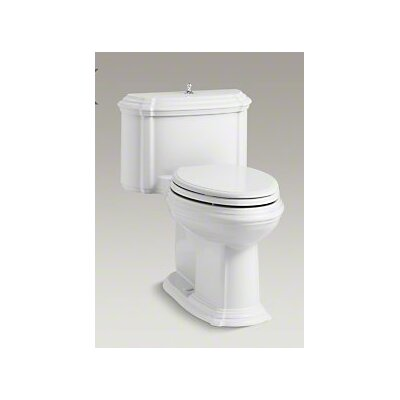 Portrait Comfort Height One-Piece Compact Elongated 1.28 GPF Toilet with Aquapiston Flush Technology, Lift Knob Actua... Product Photo