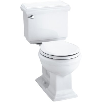 Memoirs Classic Comfort Height Two-Piece Round-Front 1.28 GPF Toilet with Aquapiston Flush Technology and Left-Hand T... Product Photo