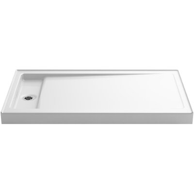 Bellwether Single-Threshold Shower Base with Left Center Drain Product Photo