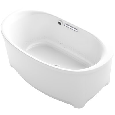Underscore Oval Freestanding BubbleMassage™ Air Bath with Bask Heated Surface Product Photo