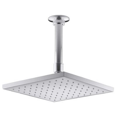 "Contemporary Square 8"" Rainhead with Katalyst Air-Induction Spray, 2.5 Gpm Product Photo"
