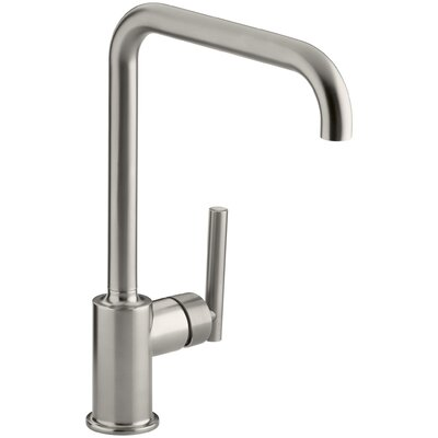 Purist Single-Hole Kitchen Sink Faucet with 8
