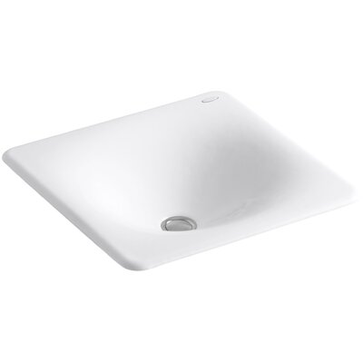 Iron Tones Drop-In/Undermount Bathroom Sink by Kohler