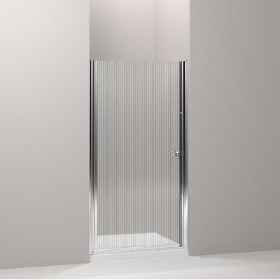 "Fluence 65.5"" x 39"" Pivot Shower Door Product Photo"
