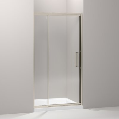 "Lattis 76"" x 42"" Pivot Shower Door Product Photo"