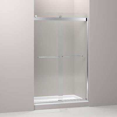 "Levity 74"" x 47.63"" Sliding Shower Door Product Photo"