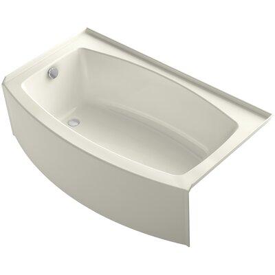"""Expanse 60"""" x 30-36"""" Soaking Bathtub Product Photo"""