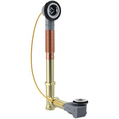 Pureflo Rough-In Cable Bath Drain, Brass, 30