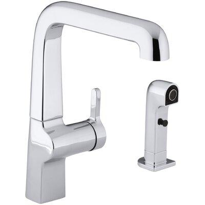 Evoke Single-Hole Kitchen Sink Faucet with 9