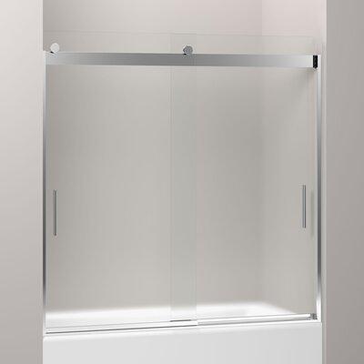 "Levity 59.75"" x 59.63"" Sliding Bath Door Product Photo"