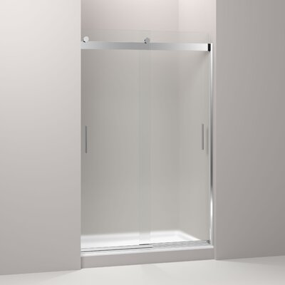 "Levity 74"" x 47.63"" Sliding Shower Door Product Photo"