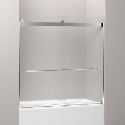 "Levity 59.75"" x 59.63"" Sliding Bath Door Product Photo"