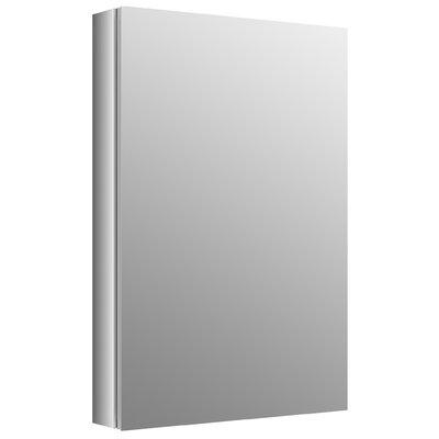 "Verdera 20"" W x 30"" H Aluminum Medicine Cabinet Product Photo"