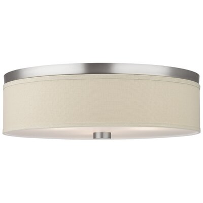 Embarcadero 3 Light Flush Mount Product Photo