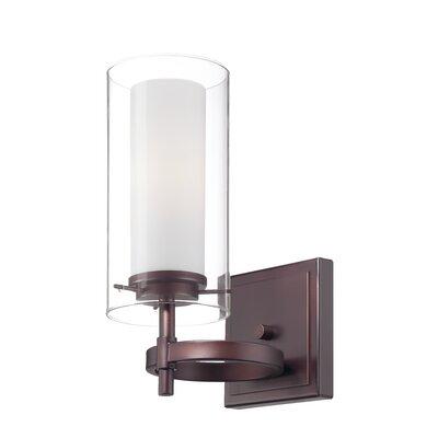 philips consumer luminaire hula 1 light wall sconce reviews wayfair. Black Bedroom Furniture Sets. Home Design Ideas