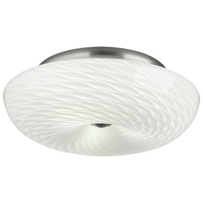Inhale 3 Light Flush Mount Product Photo