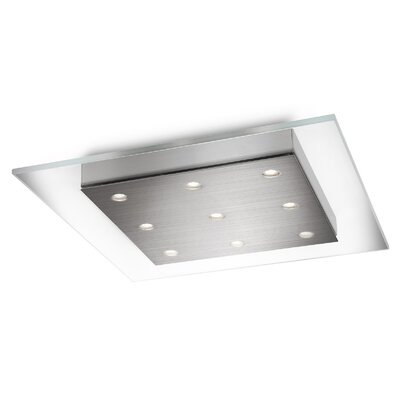 Matrix 9 Light Flush Mount Product Photo